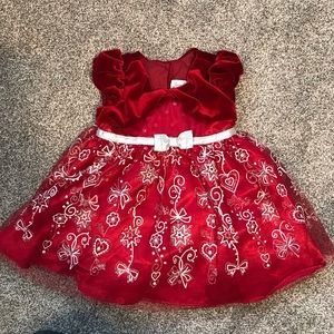 Jona Michelle girls party dress, size 12 mos